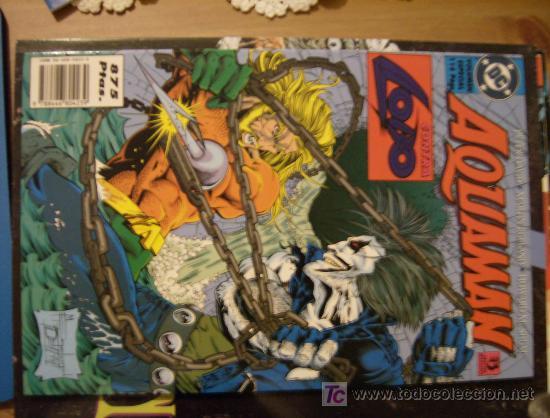 AQUAMAN CONTRA LOBO. ZINCO, 1996. (Tebeos y Comics - Zinco - Lobo)