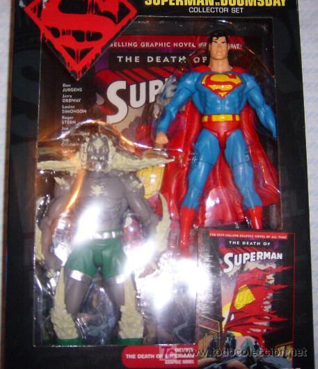 marvel legends la muerte de superman (serie lim - Comprar