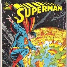 Cómics: SUPERMAN - EL DIA QUE ESTALLO LA TIERRA - ZINCO 1984. Lote 6413382