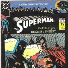 Cómics: SUPERMAN - CAPITULO DOS***1990*** ENIGMAS. Lote 6575676