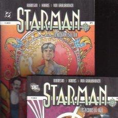Cómics: STARMAN - LOTE DE 2 EJEMPLARES ( Nº 1 Y 2 ) / AUTORES : JAMES ROBINSON & TONY HARRIS. Lote 26774632