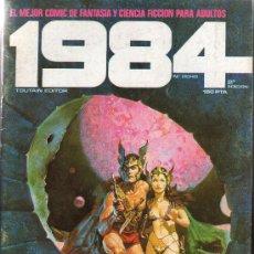 Cómics: 1984 EL MEJOR COMIC DE FANTASIA Y CIENCIA FICCION Nº 8 2ª EDICION MAS TEBEOS Y COMIC EN MI KIOSCO. Lote 27279869
