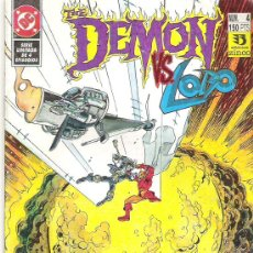 Cómics: THE DEMON VS LOBO *** IMPACTO FINAL NUM4 1992. Lote 6772539