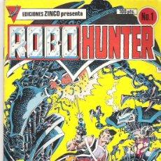 Cómics: ROBO HUNTER - NO 1 ***1984. Lote 6790443