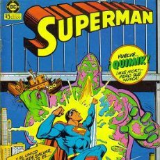 Cómics: SUPERMAN (ZINCO) ORIGINAL 1984-87 LOTE. Lote 27393982