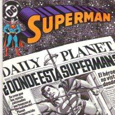 Cómics: SUPERMAN *** TERRENO PELIGROSO*** NUM 61+++1989** CONDICION EX. Lote 7046986
