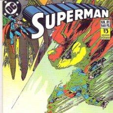 Cómics: SUPERMAN ***CEMENTERIO*** NUM 81+++1989** CONDICION EX. Lote 7047297
