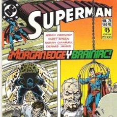 Cómics: SUPERMAN ***VISIONES DE GRANDEZA*** NUM 76+++1989** CONDICION EX. Lote 7055886