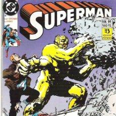 Cómics: SUPERMAN ***EL TERROR DE 4 BRAZOS ATACA*** NUM 91+++1990** CONDICION EX. Lote 7055983