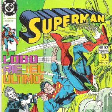 Cómics: SUPERMAN ***BRONCA SANGRIENTA*** NUM 93+++1990** CONDICION EX. Lote 7055999