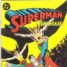 Cómics: SUPERMAN - HAWKWOMAN ** NUM 21 ** JUNIO DE 1987**EX. Lote 7634844