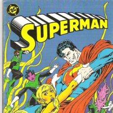 Cómics: SUPERMAN - VERDE SOBRE VERDE **** NUM 22 *** 1987 ** EX. Lote 7634853