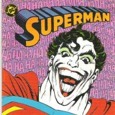 Cómics: SUPERMAN - ADIVINA QUIEN ESTA EN METROPOLIS *** NUM 23 *** 1987 **EX. Lote 7634860
