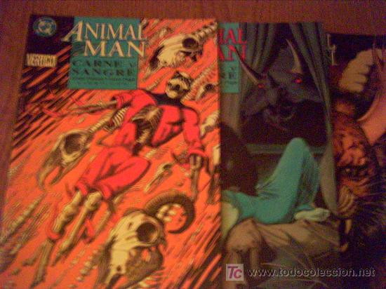 ANIMAL MAN . CARNE Y SANGRE . TRES TOMOS (Tebeos y Comics - Zinco - Prestiges y Tomos)