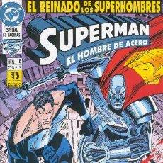 Cómics: SUPERMAN EL HOMBRE DE ACERO Nº 5 ARX65. Lote 25264159