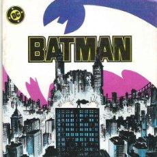 Cómics: BATMAN - NUM 16 ***EL AGUIJON DE LA ARAÑA ***1988 *** EXCEPCIONAL. Lote 17562970