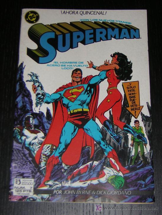 SUPERMAN Nº7 - EDICIONES ZINCO (Tebeos y Comics - Zinco - Superman)