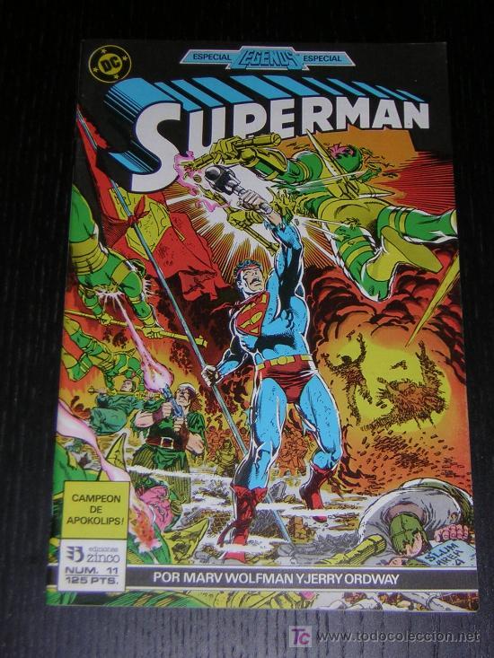SUPERMAN Nº11 - EDICIONES ZINCO (Tebeos y Comics - Zinco - Superman)