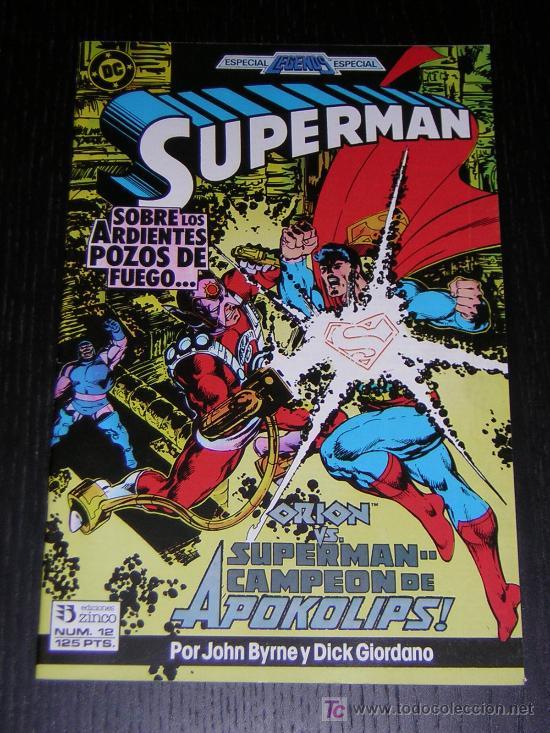 SUPERMAN Nº12 - EDICIONES ZINCO (Tebeos y Comics - Zinco - Superman)