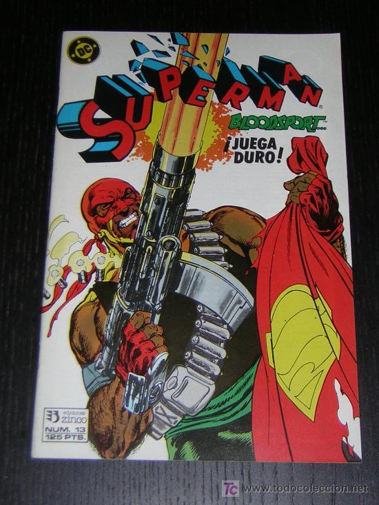 SUPERMAN Nº13 - EDICIONES ZINCO (Tebeos y Comics - Zinco - Superman)