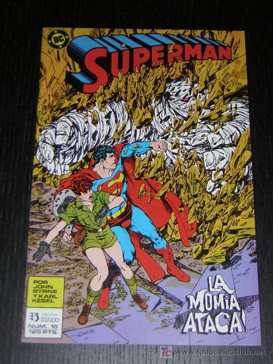 SUPERMAN Nº15 - EDICIONES ZINCO (Tebeos y Comics - Zinco - Superman)