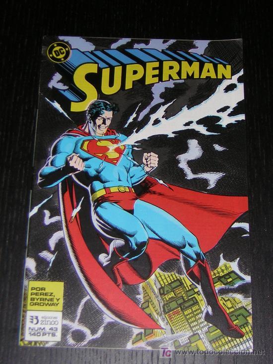 SUPERMAN Nº43 - EDICIONES ZINCO (Tebeos y Comics - Zinco - Superman)