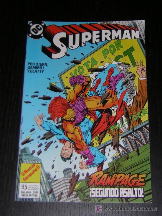SUPERMAN Nº52 - EDICIONES ZINCO (Tebeos y Comics - Zinco - Superman)