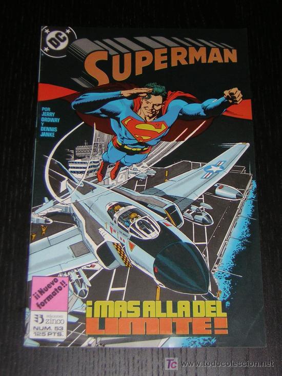 SUPERMAN Nº53 - EDICIONES ZINCO (Tebeos y Comics - Zinco - Superman)