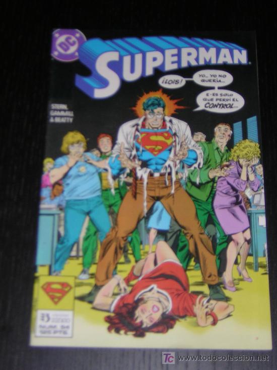 SUPERMAN Nº54 - EDICIONES ZINCO (Tebeos y Comics - Zinco - Superman)