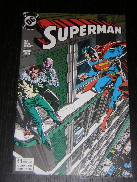 SUPERMAN Nº55 - EDICIONES ZINCO (Tebeos y Comics - Zinco - Superman)