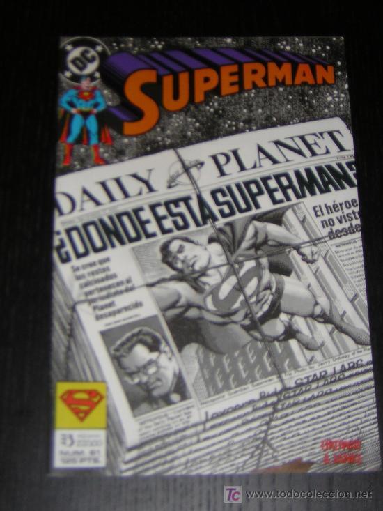 SUPERMAN Nº61 - EDICIONES ZINCO (Tebeos y Comics - Zinco - Superman)