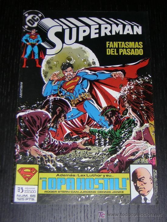 SUPERMAN Nº65 - EDICIONES ZINCO (Tebeos y Comics - Zinco - Superman)