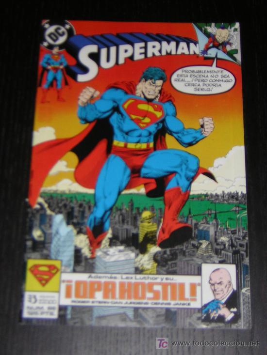 SUPERMAN Nº66 - EDICIONES ZINCO (Tebeos y Comics - Zinco - Superman)