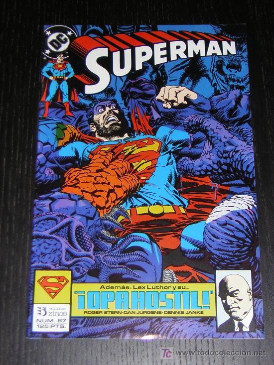 SUPERMAN Nº67 - EDICIONES ZINCO (Tebeos y Comics - Zinco - Superman)