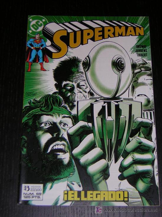SUPERMAN Nº69 - EDICIONES ZINCO (Tebeos y Comics - Zinco - Superman)