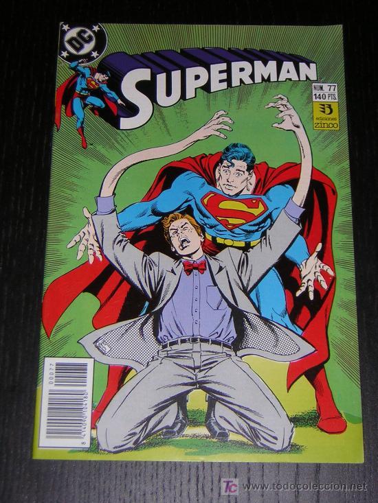 SUPERMAN Nº77 - EDICIONES ZINCO (Tebeos y Comics - Zinco - Superman)