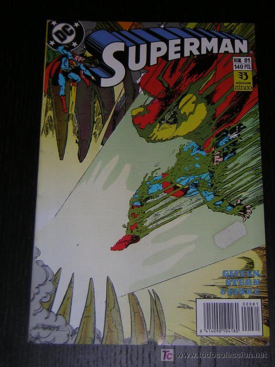 SUPERMAN Nº81 - EDICIONES ZINCO (Tebeos y Comics - Zinco - Superman)