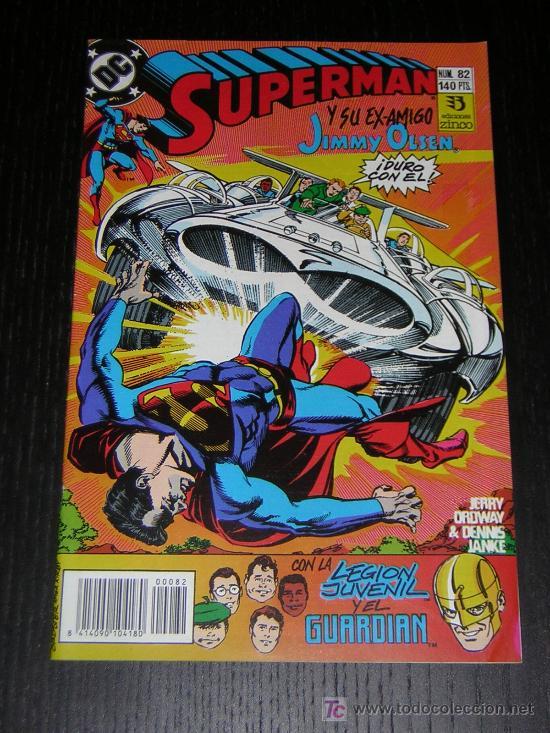SUPERMAN Nº82 - EDICIONES ZINCO (Tebeos y Comics - Zinco - Superman)
