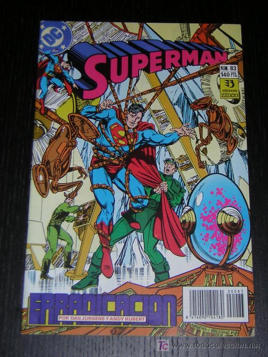 SUPERMAN Nº83 - EDICIONES ZINCO (Tebeos y Comics - Zinco - Superman)