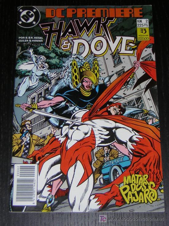 HAWK & DOVE Nº2 - EDICIONES ZINCO (Tebeos y Comics - Zinco - Otros)