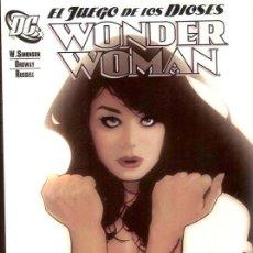 Cómics: WONDER WOMAN. EL JUEGO DE LOS DIOSES POR WALTER SIMONSON Y JERRY ORDWAY. Lote 27227774