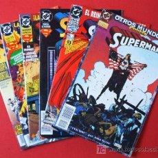 Cómics: 6 COMICS - SUPERMAN - EDICIONES ZINCO. Lote 25196324