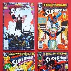 Cómics: 4 COMICS - SUPERMAN - EDICIONES ZINCO. Lote 19599866