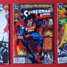 Cómics: 3 COMICS - SUPERMAN - EDICIONES ZINCO. Lote 20447468