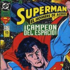 Cómics: SUPERMAN Nº 10. CAMPEON DEL ESPACIO. Lote 26192196