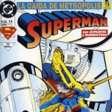 Cómics: SUPERMAN Nº 14. LA CAIDA DE METROPOLIS. Lote 27614581