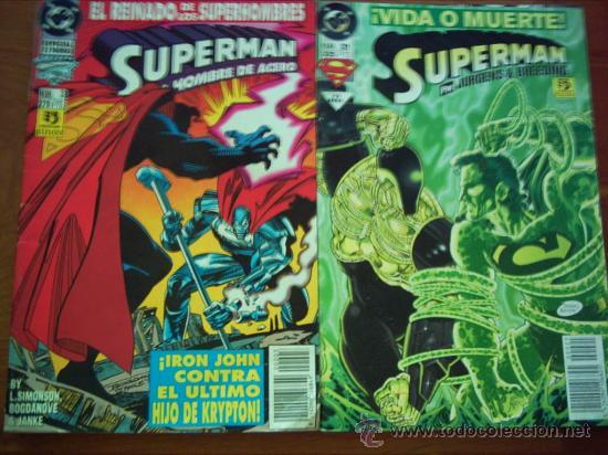 OFERTA : SUPERMAN : LOTE : VER LISTA (Tebeos y Comics - Zinco - Superman)
