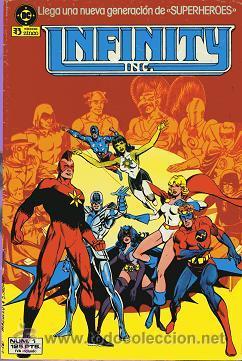 COMIC INFINITY Nº 1; EDICIONES ZINCO (Tebeos y Comics - Zinco - Infinity Inc)