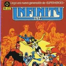 Cómics: COMIC INFINITY Nº 1; EDICIONES ZINCO. Lote 8075119