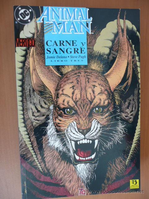 ANIMAL MAN. CARNE Y SANGRE. LIBRO TRES. ZINCO (Tebeos y Comics - Zinco - Otros)